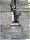 Statuia Lui Honterus - Biserica Neagra Brasov